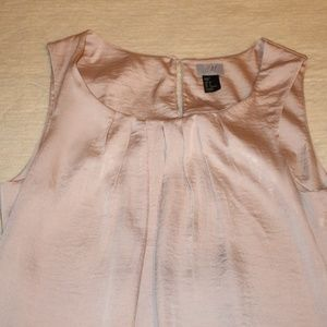 H&M Dresses - H&M Short Champagne Satiny Dress Size 6